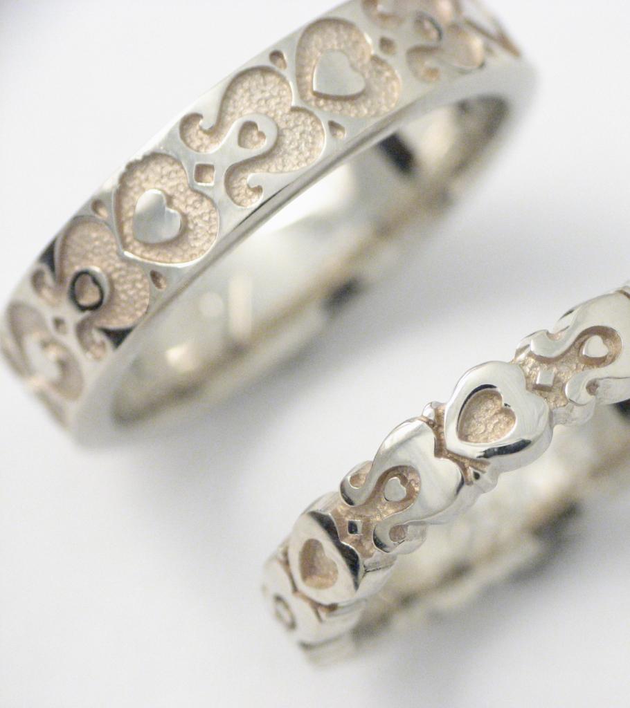 fehérarany karikagyűrű 012.