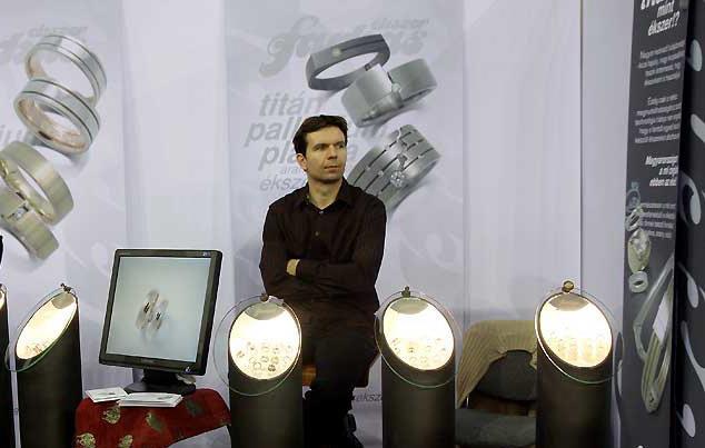 Esküvő kiállításon - Kongresszusi Központ 2011. - Farkas Ékszer - Farkas Márk