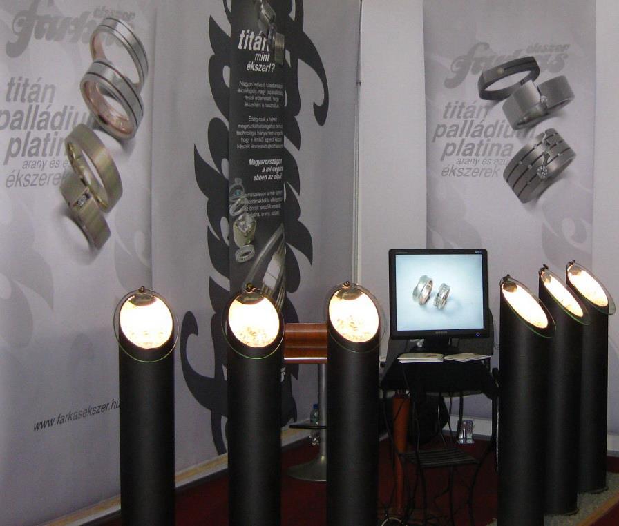Esküvő kiállításon - Papp László Sportaréna 2011. - Farkas Ékszer