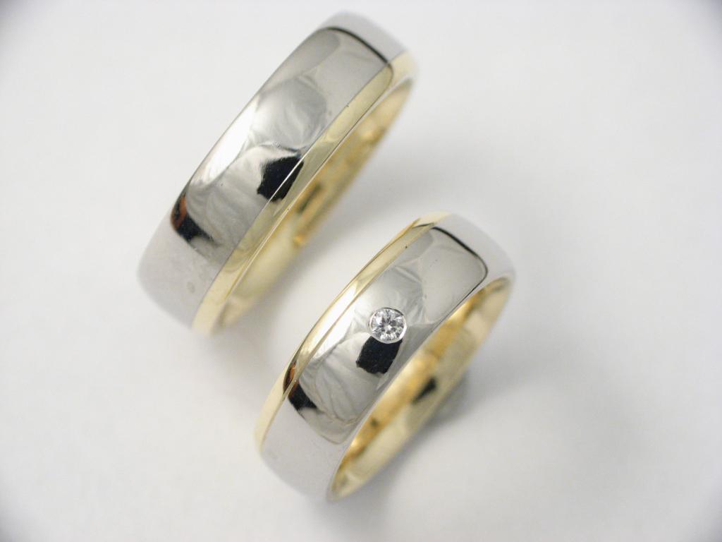 platina-arany karikagyűrű gyémánttal 001.