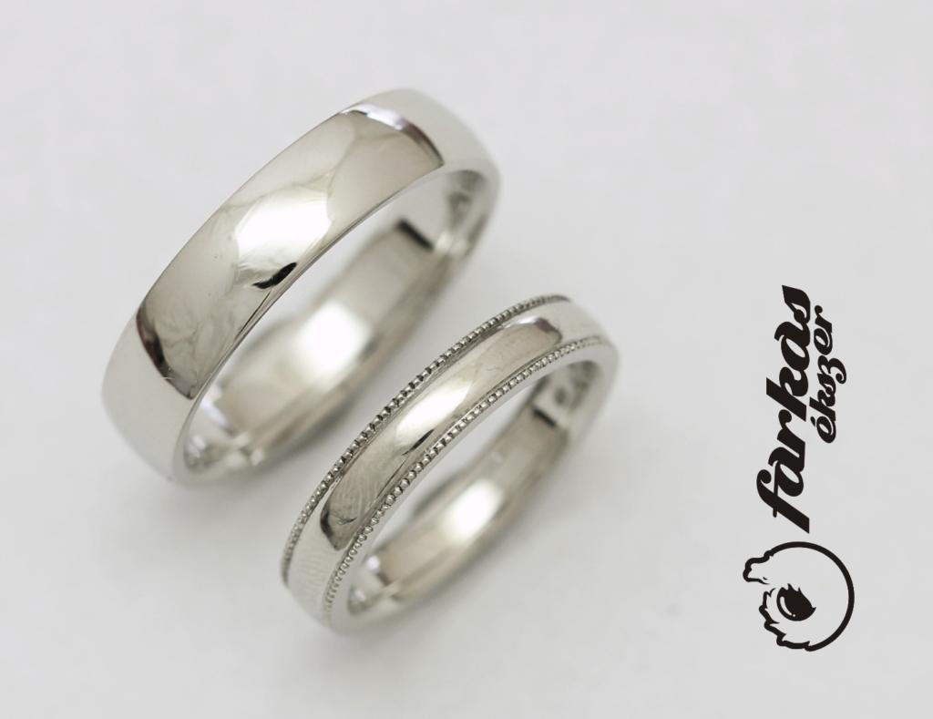 Platina karikagyűrűk 052.