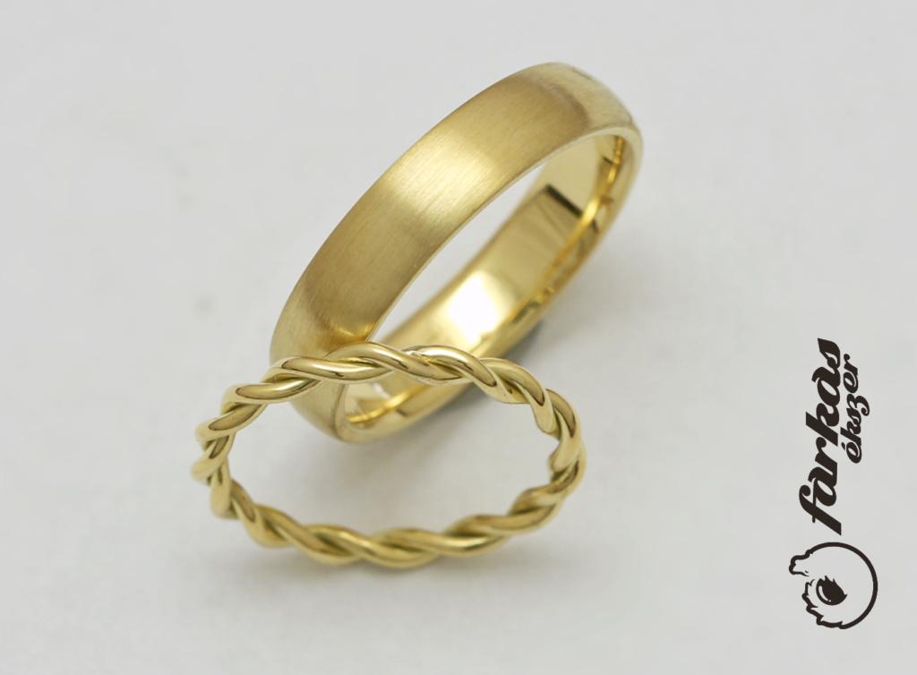 Arany karikagyűrűk 112.