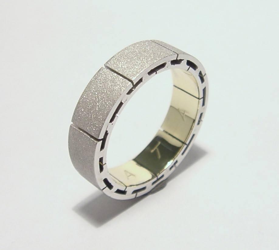 Fehérarany gyűrű 80.