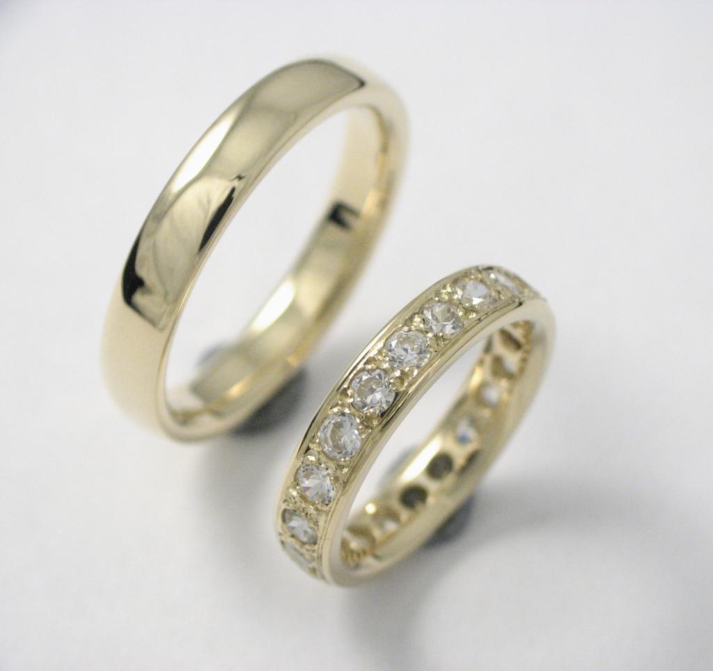 arany karikagyűrű gyémántokkal 022.
