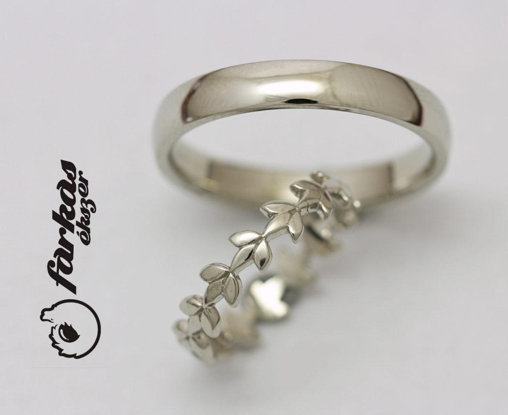 Fehérarany karikagyűrűk 103.