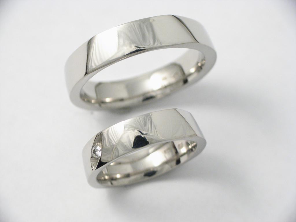 Palládium karikagyűrű 007.