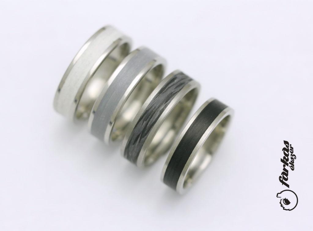 Titán-karbon gyűrűk T315.