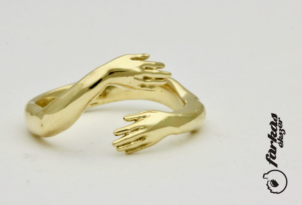 Sárga arany gyűrű A152.